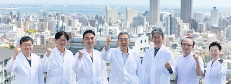 神戸朝日神戸 医師の集合写真
